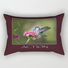 Inspirational Action Rectangular Pillow