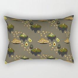 Guacamole and Chips Rectangular Pillow