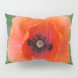 Floating poppy Pillow Sham