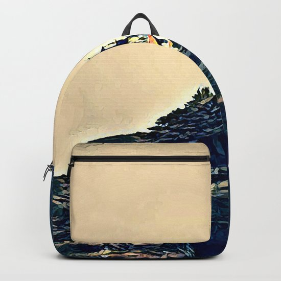 A Light In The Tempest Backpack