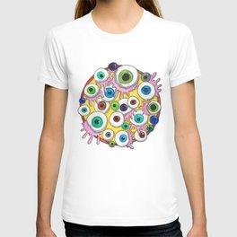 watercolor colourfull eyes T-shirt