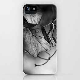 the things left unsaid iPhone Case