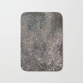 Silver Glitter #1 #decor #art #society6 Bath Mat
