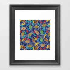 Crab Pinchers Framed Art Print