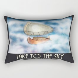 Take to the Sky Rectangular Pillow