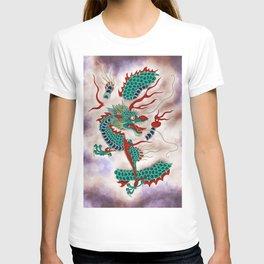 Dragon in the Cloud Type H: Minhwa-Korean traditional/folk art T-shirt
