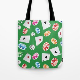 #casino #games #accessories #pattern 4 Tote Bag
