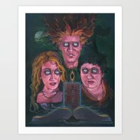 hocus pocus Art Prints featuring Hocus Pocus by Todd Spence