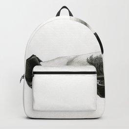 Legs Art Illustration Graphite Drawig Backpack