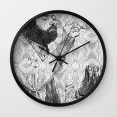 Virus Wall Clock