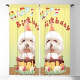 Happy Birthday Blackout Curtain