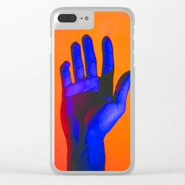 Hand Aesthetic 2 Clear iPhone Case