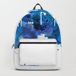 Bern Switzerland Skyline Blue Backpack