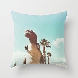 dino daze Throw Pillow