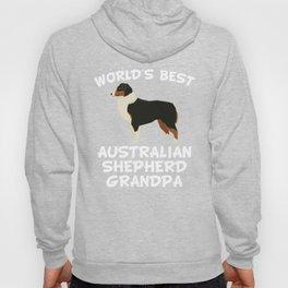 World's Best Australian Shepherd Grandpa Hoody