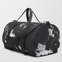 Black Marble #1 #decor #art #society6 Duffle Bag