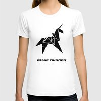 blade runner T-shirts featuring Blade Runner - Rachel's Origami by Thecansone
