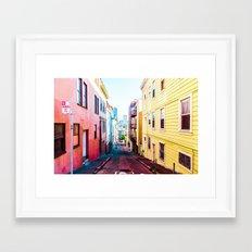 Colorful San Francisco 4 Framed Art Print