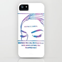 Keepin It Surreal iPhone Case
