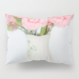 Pink Carnations 1 Pillow Sham