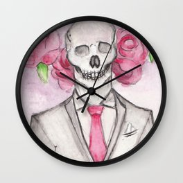 Pale Rider Wall Clock