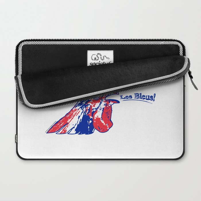 France Les Blues (The Blues) ~Group C~ Laptop Sleeve