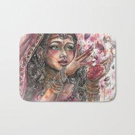 Goddess Lakshmi Bath Mat