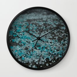 Safety Glass Wall Clock