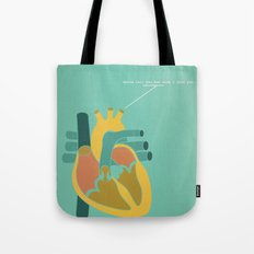 Aorta Tell You How Much I Love You Tote Bag