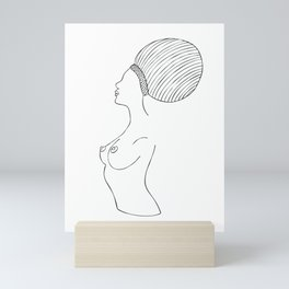 Fashion Drawing 323 Mini Art Print