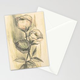 Mom's Flowers Stationery Cards