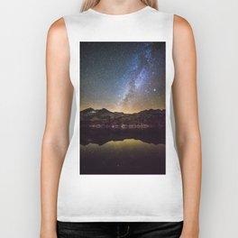 Galaxy Behind the Mountain Biker Tank