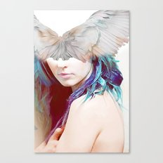 The messenger Omega Canvas Print