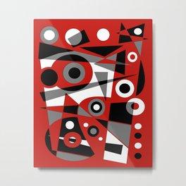 Abstract #908 Metal Print