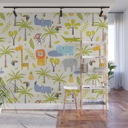 It's A Jungle Out There Wall Mural