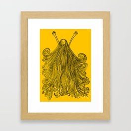 Beardy Man Framed Art Print