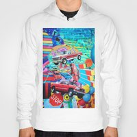 cars Hoodies featuring Cars by John Turck