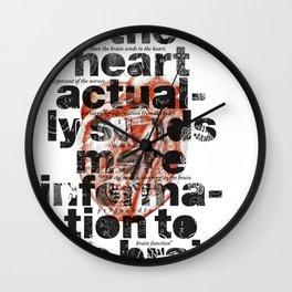 The heart actually... Wall Clock