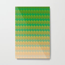 Paranoia Pattern Metal Print
