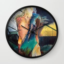 Whatever Sinks Your Ship Wall Clock