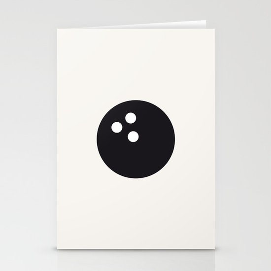 Bowling - Balls Serie Stationery Cards