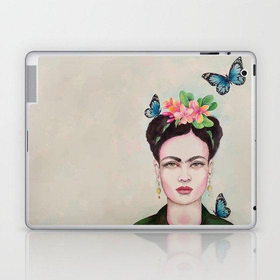 Tropical Frida by Andrea Laptop & iPad Skin