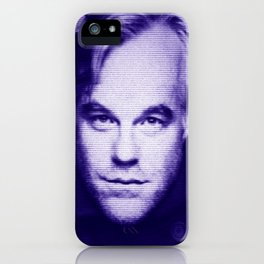 Philip Seymour Hoffman iPhone Case