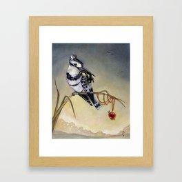 King of Hearts (Bird) Framed Art Print