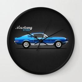 Shelby GT500 Wall Clock