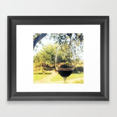 Napa Framed Art Print