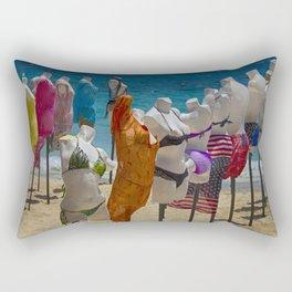 Beach bodies Rectangular Pillow