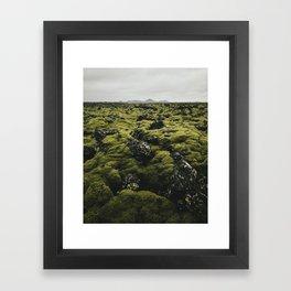 Moss (Iceland) Framed Art Print