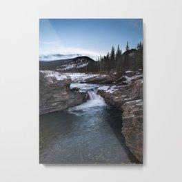 Elbow Falls Metal Print