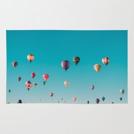 Hot Air Balloons Rug